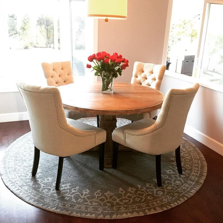Round table for an awkward corner