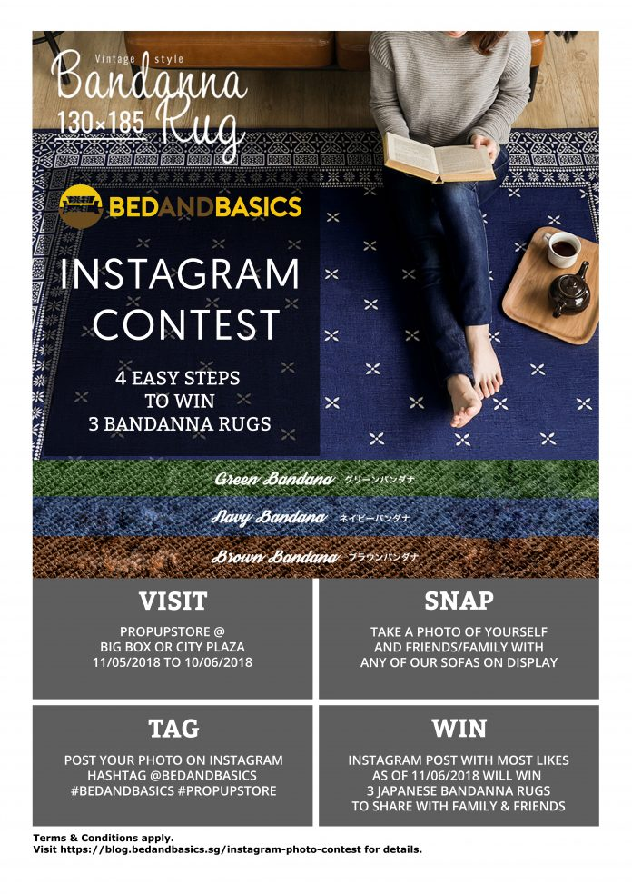 BedandBasics.sg BedandBasics.sg Instagram Photo Contest